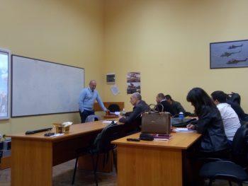 Лекция на началника на националния контратерористичен център.