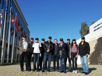 Академично посещение на студенти от втори курс в Международния институт по контратероризъм в Херцлия – Израел