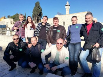 Посещение във Витлеем и Ерусалим