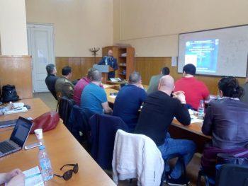Лекция на командира на 68 бригада специални сили бригаден генерал Явор Матеев