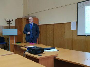 Лекция на директора на Националния контратерористичен център в ДАНС г-н Мирослав Михайлов