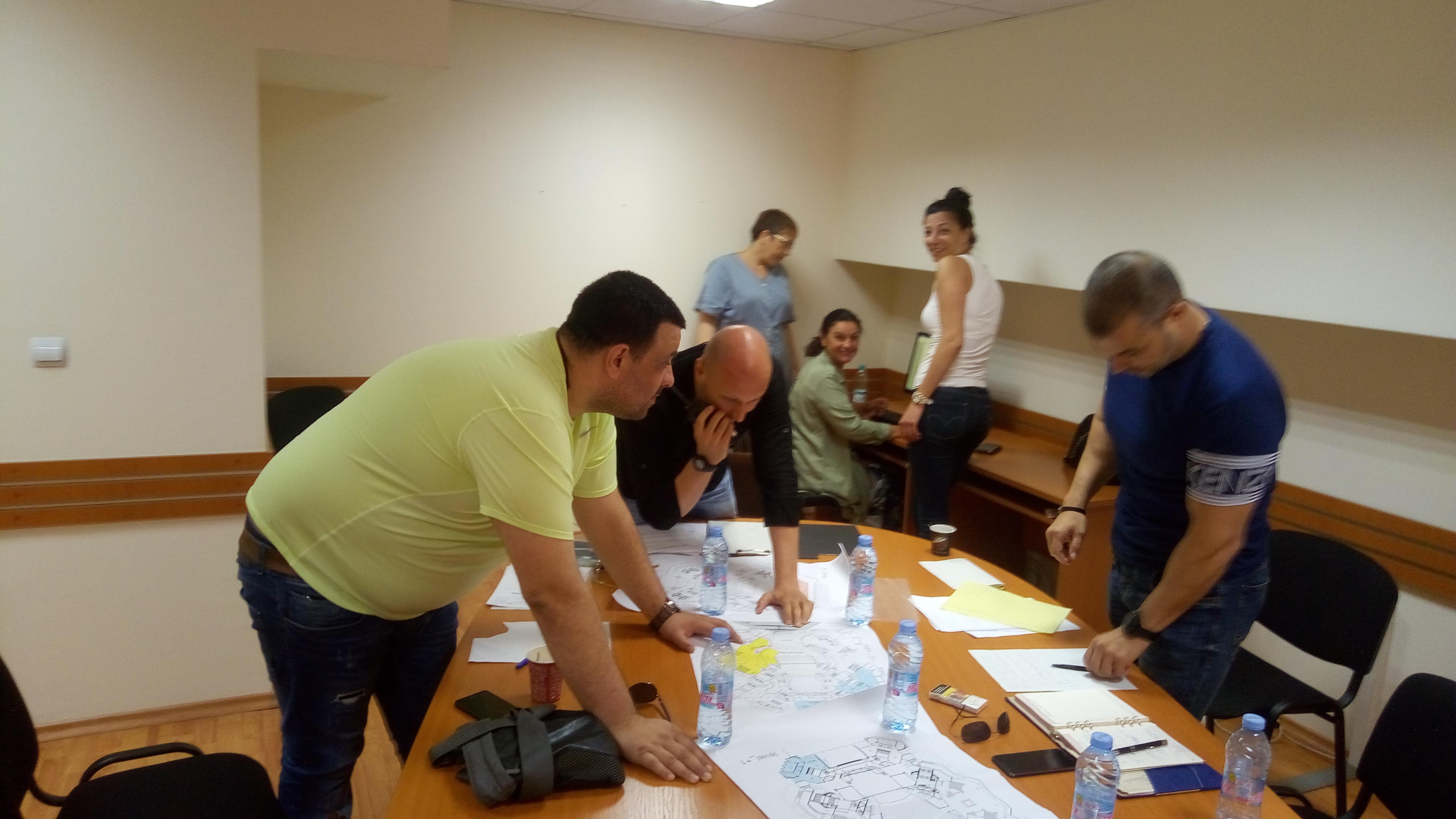 """Участие на студенти в Компютърно подпомагано командно-щабно учение """"Решителна сила 19"""""""
