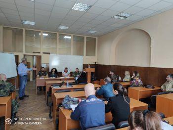 Участие на студенти от специалността в Компютърно подпомагано Командно-щабно учение с международно участие